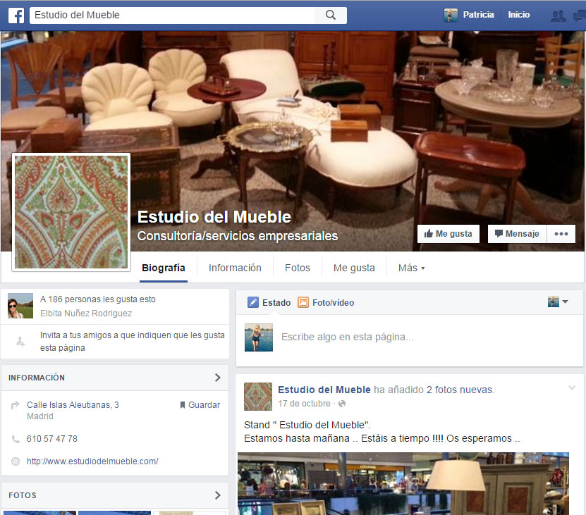 estudio del mueble facebook