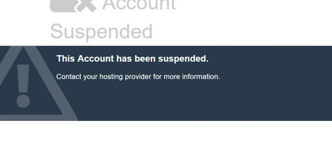 ¡Han cerrado mi compañía de Hosting!