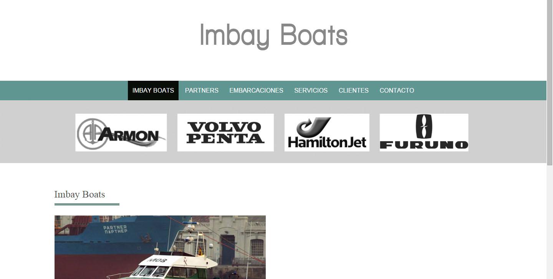 imbay boats profesional web